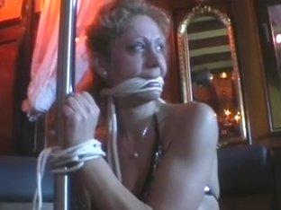 FetishNetwork Movie: Bondage Barmaid Treat