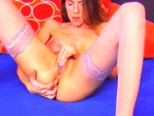 Czech brunette orgasm compilation