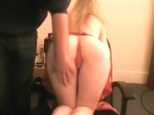 Teasing and showing off my golden-haired girlfriend on web camera