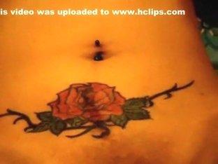 Piny MILF with tattoo