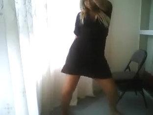 Fabulous twerking web camera panty clip