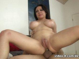 Fabulous pornstars Bambi Diamond, Anthony Rosano in Hottest Big Tits, Latina adult movie