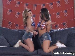 Best pornstars Serena Blair, Sasha Heart in Horny Cunnilingus, Lesbian porn clip
