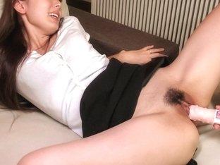 Horny Japanese slut Yui Hatano in Best JAV uncensored Blowjob scene