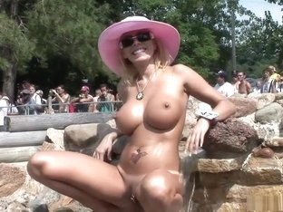Horny pornstar in hottest big tits, striptease porn video