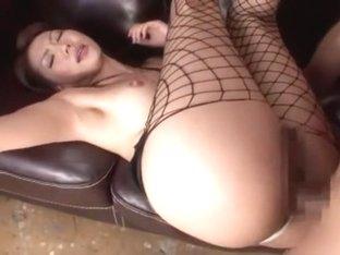Best Japanese chick Shiori Tsukumi in Crazy Fetish, Threesomes JAV video