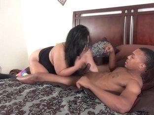 Best pornstar Tequila Rose in hottest swallow, bbw sex movie