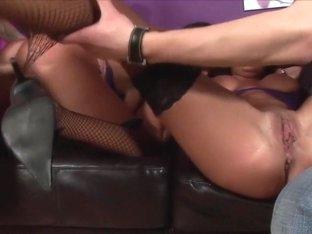 Hottest pornstars Kat Lee and Kit Lee in amazing cumshots, cunnilingus sex video