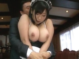 Hottest Japanese girl Momo Shirato in Amazing Big Tits JAV video