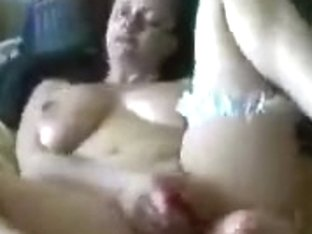 Double big dildo massage