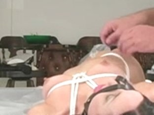 Hogtied & gagged