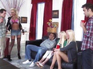 Nikita goes all out on Keiran's big cock