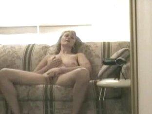 Homemade hidden camera caught my wife pleasing herself