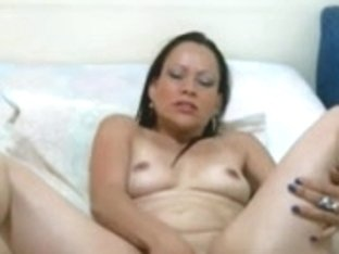 Latin Chick Copulates and Rides Wet Crack Using Sextoy On Webcam