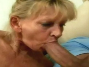 hot and slutty blonde granny
