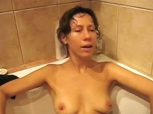 Trying to masturbating with assist of a shower
