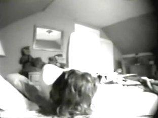 Caught my mum masturbating in her bedroom