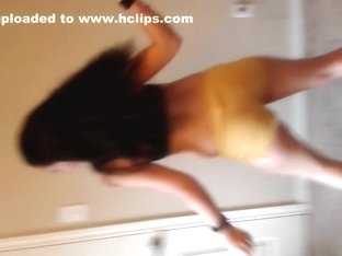 Most Excellent twerking web camera solo clip