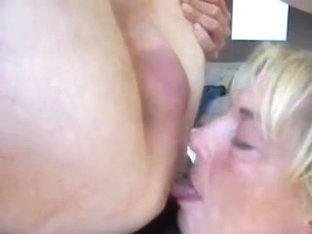 Older deepthroat and rim job