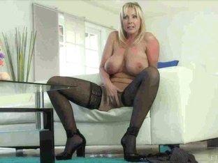 Crazy pornstar in Exotic Solo Girl, Stockings sex movie