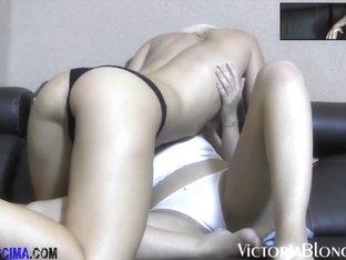 Exotic pornstar Horny Danae in Crazy Fingering, Blonde adult movie