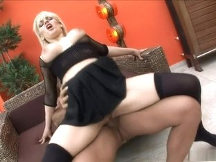 Hottest pornstar in best european, lingerie sex clip
