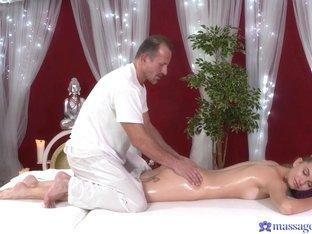 Horny pornstars Lana Roberts, George in Fabulous Redhead, Small Tits sex scene