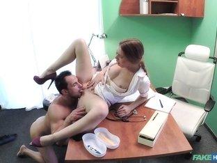 Exotic pornstar in Hottest Voyeur, Medical adult scene