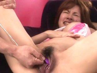 Ai Nakazato Uncensored Hardcore Video with Creampie, Dildos/Toys scenes