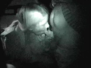 Sucking off a stranger whilst dogging