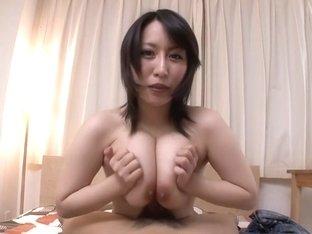 Hottest Japanese chick Yuuna Hoshisaki in Fabulous JAV uncensored Cumshots scene