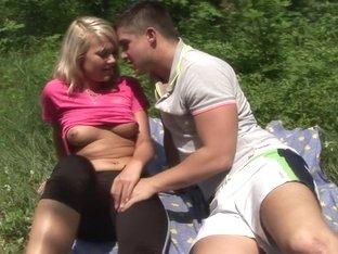 Hottest pornstar Clara Moon in exotic outdoor, college porn scene