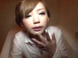 Incredible Japanese model in Horny Fetish, Handjobs JAV movie