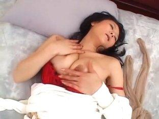 Crazy Japanese model Mio Saegusa in Amazing Masturbation/Onanii, Solo Girl JAV movie
