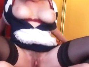Superhot hirsute maid mother i'd like to fuck getting screwed
