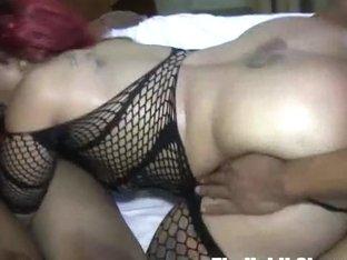 OMG thick big booty snicka gangbanged