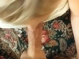 She has awesome handfree blowjob skills and didn't spill a drop of cum !!!
