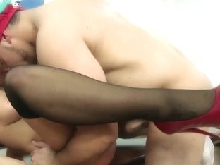 HotGold Video: Portuguese Style Anal Fucking