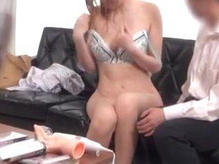 Japanese milf is horny and enjoys hot masturbation
