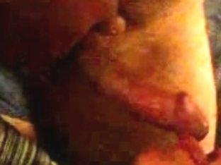 Real homemade facial clip