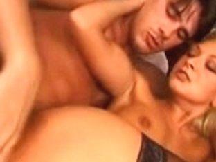 Moaning sexy MILF slut enjoying hardcore anal fucking
