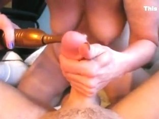 She knows how to masturbate a penis