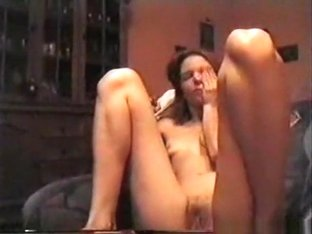 Skinny brunette girl gets her shaved pussy eaten out and masturbated and she returns the favour wi.