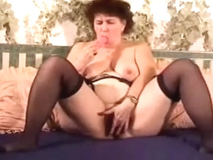 My wicked wifey just can't live out of masturbating on camera