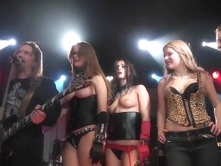 Korrozia Metalla Naked Rock Girls Ugar in the Monaclub