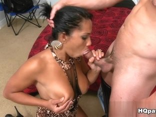 Horny pornstar Honey Luau in Fabulous Big Tits, Facial porn clip