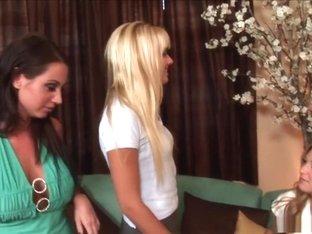 Incredible pornstars Tessa West, Nikki Flame and Nikki Kane in exotic dildos/toys, college xxx video