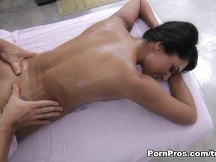 Amazing pornstar Shazia Sahari in Horny Asian, Massage sex scene
