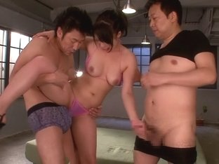 Incredible Japanese girl An Shinohara in Fabulous JAV censored Swallow, Threesomes movie