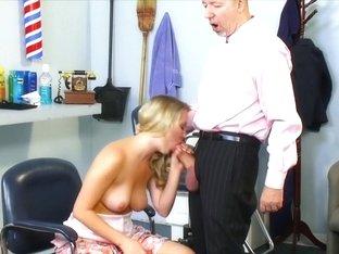 Amazing pornstar Casi James in fabulous facial, blonde sex movie